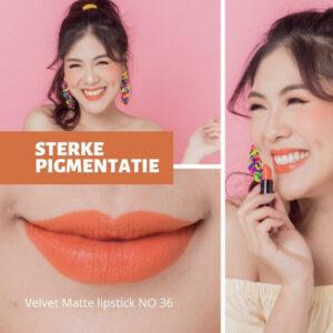Velvet matte lipstick Golden rose
