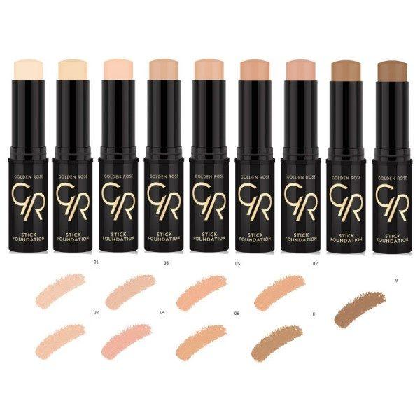 Golden-Rose-foundation-concealer-stick-foundation-kleuren-trendyhairandwellness